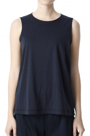 H.R 6 20SS Classic Tank Top Dark Navy for women