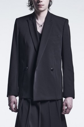 kiryuyrik 21-22AW W Peacked Jacket Black