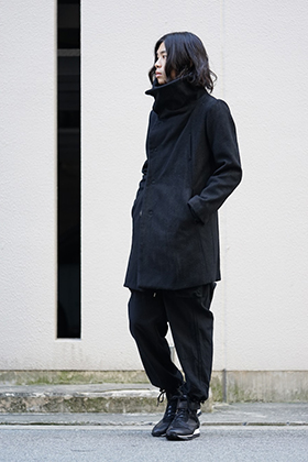 The Viridi-anne Archive High Neck Coat Style