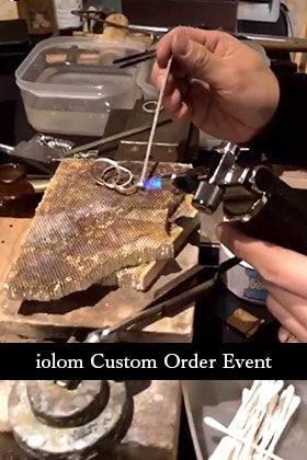iolom Custom Order Event at E-MA