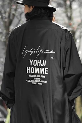 12/8(Fri) YOHJI YAMAMOTO 2018SS START!!!