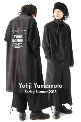 Yohji Yamamoto SS18 New Arrivals