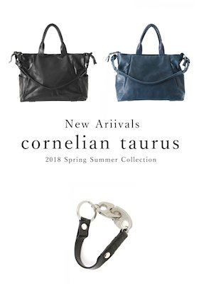 cornelian taurus 18SS Collection Arrivals and New Year Greeting