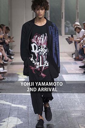 YOHJI YAMAMOTO 2018SS 2nd Delivery Start!