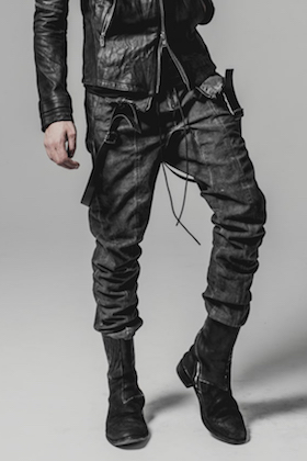 SADDAM TEISSY 2018SS Cold Dye Tight Curved Overall