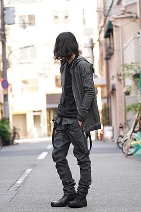 SADDAM TEISSY 18SS Grayish Style