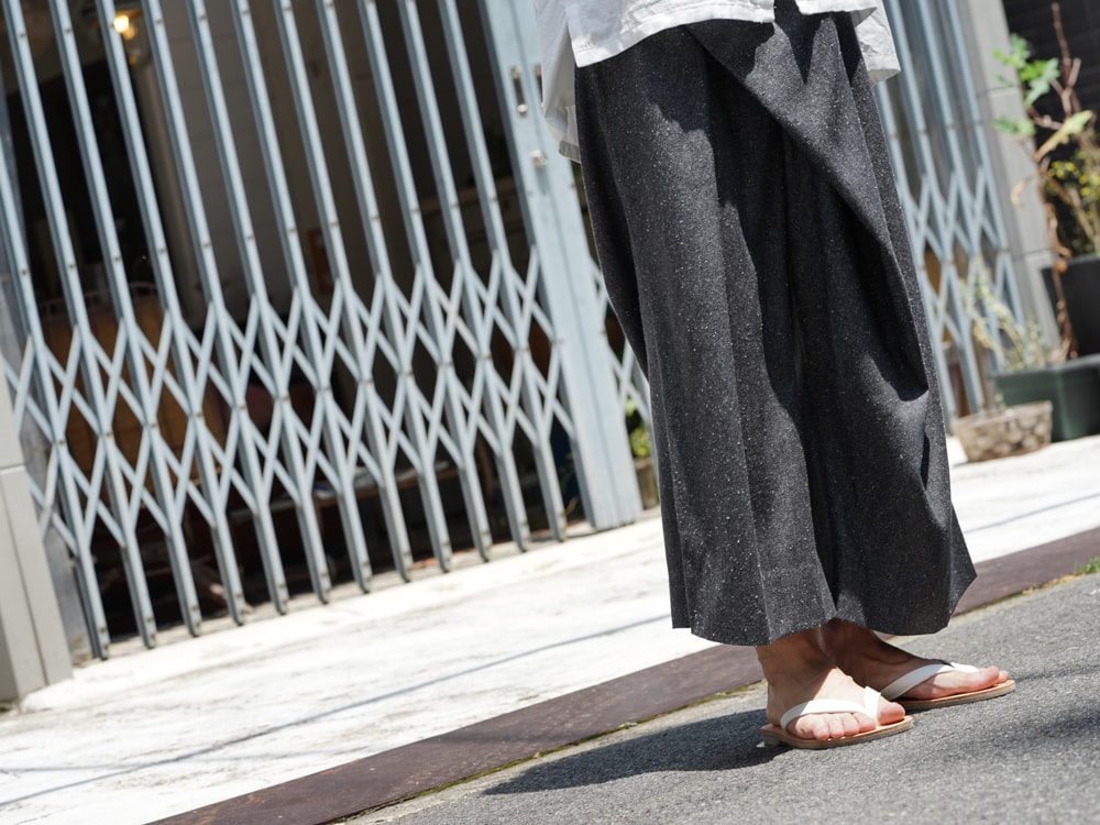 divka - Silk Noil Denim Pants detail 02
