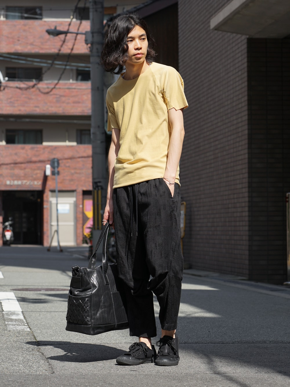 individual sentiments Short Sleeve T Cotton Linen Jersey front style 01