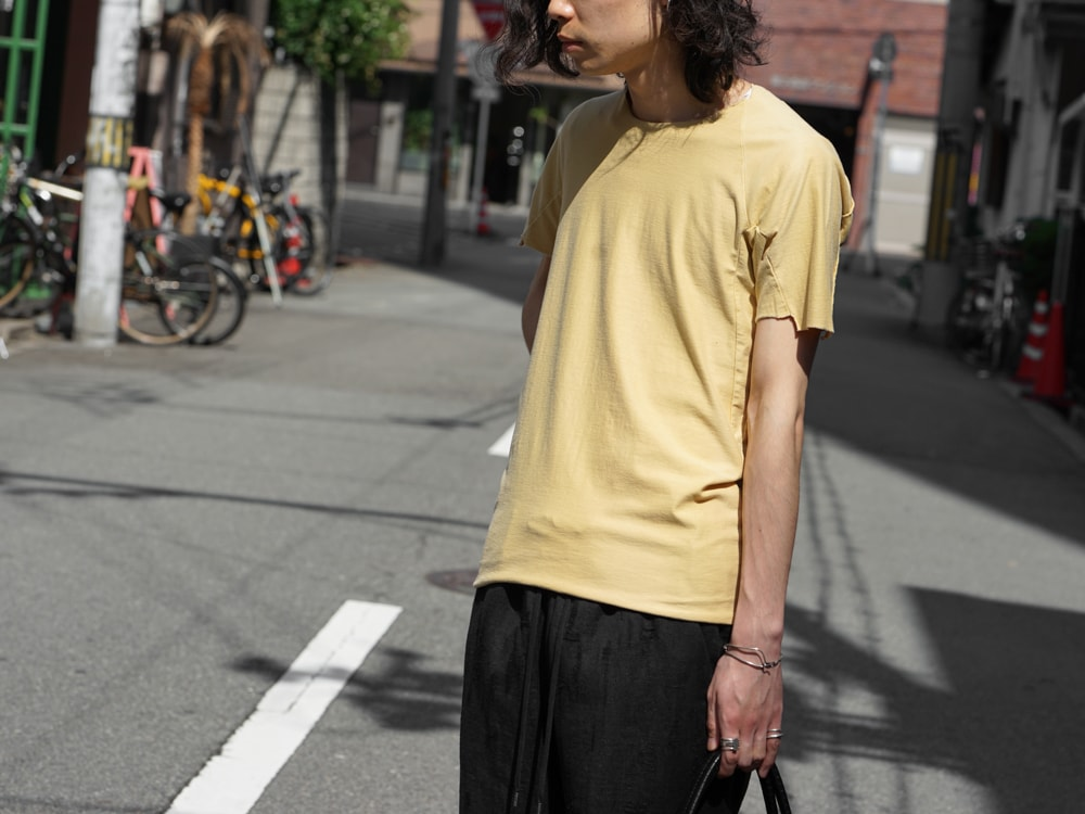 individual sentiments Short Sleeve T Cotton Linen Jersey t-shirts detail 01