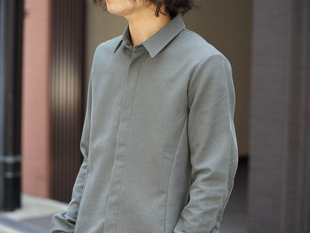 individual sentiments Antique Dobby Shirt Style