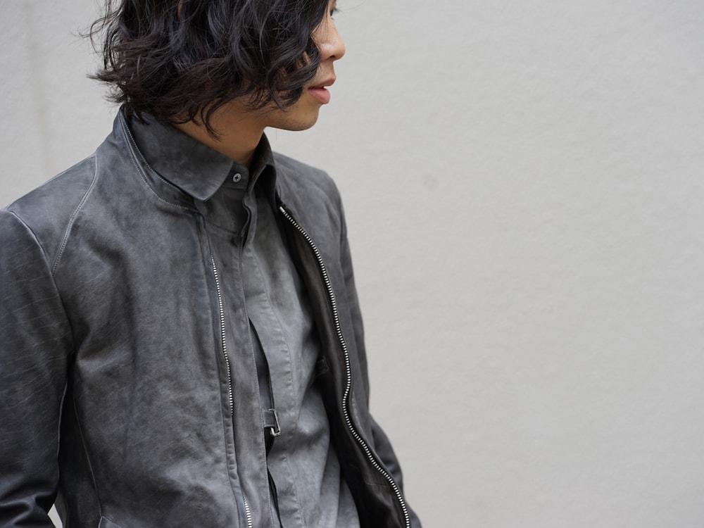 SADDAM TEISSY Horse Leather Cold Dyed Jacket Style 04