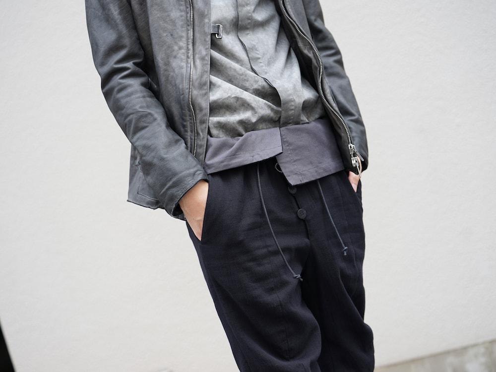 SADDAM TEISSY Horse Leather Cold Dyed Jacket Style 05