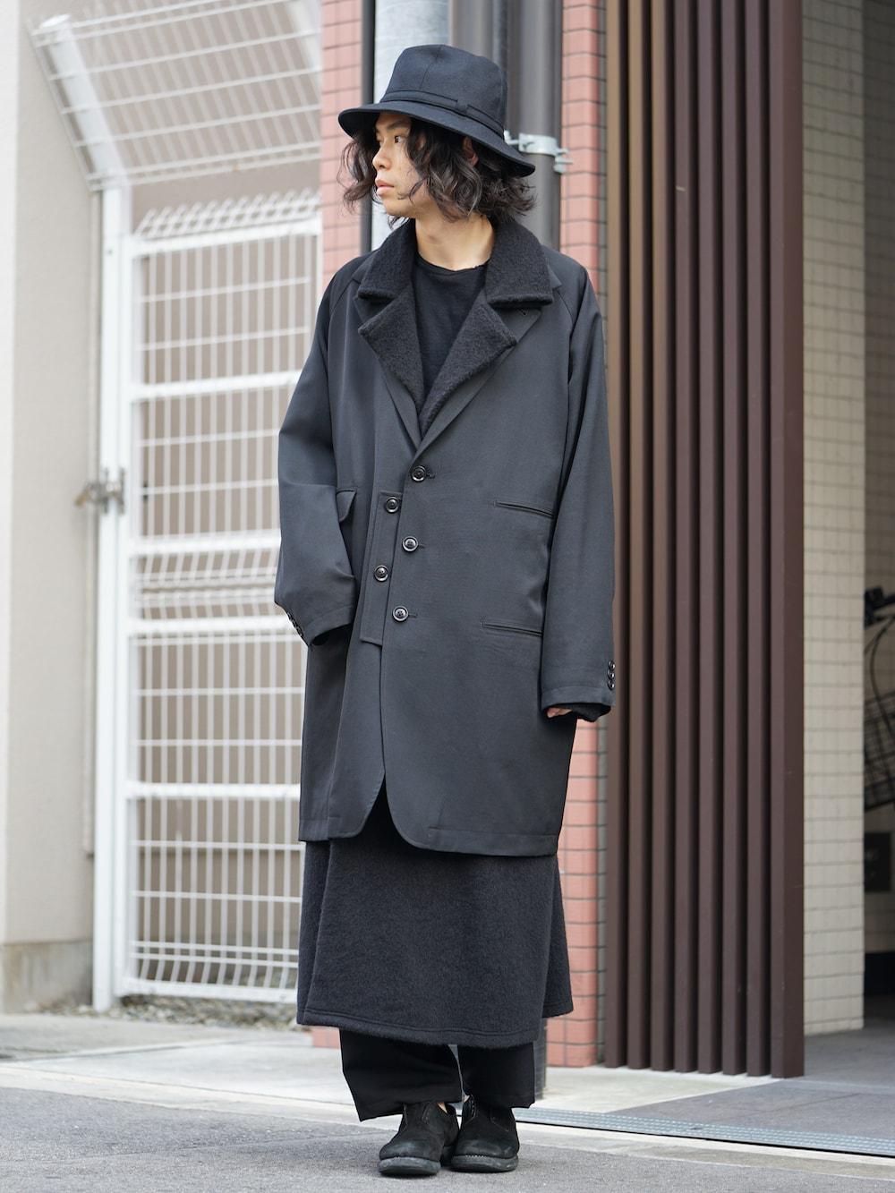 Yohji Yamamoto Coat On Jacket Style 01