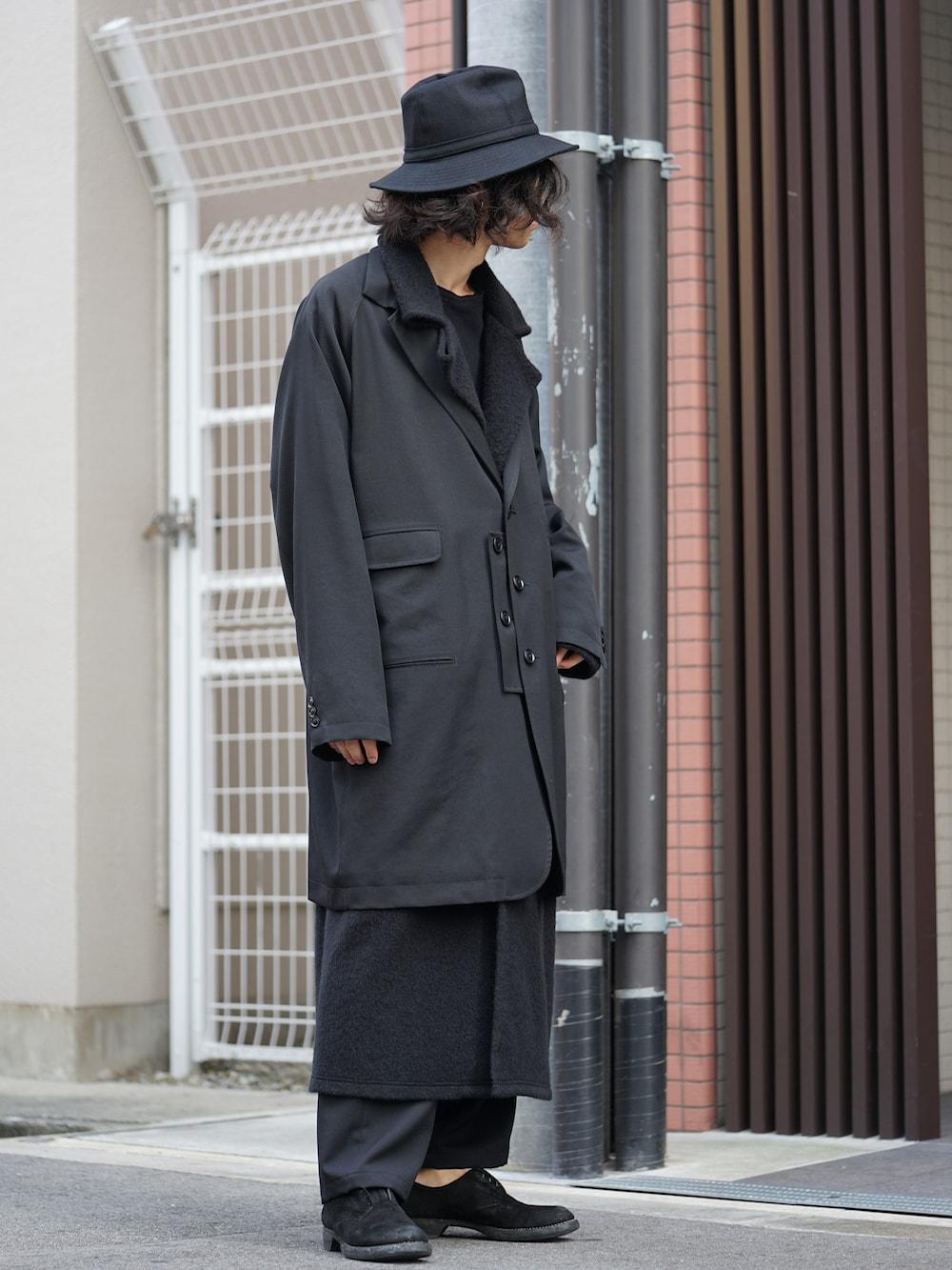 Yohji Yamamoto Coat On Jacket Style 02