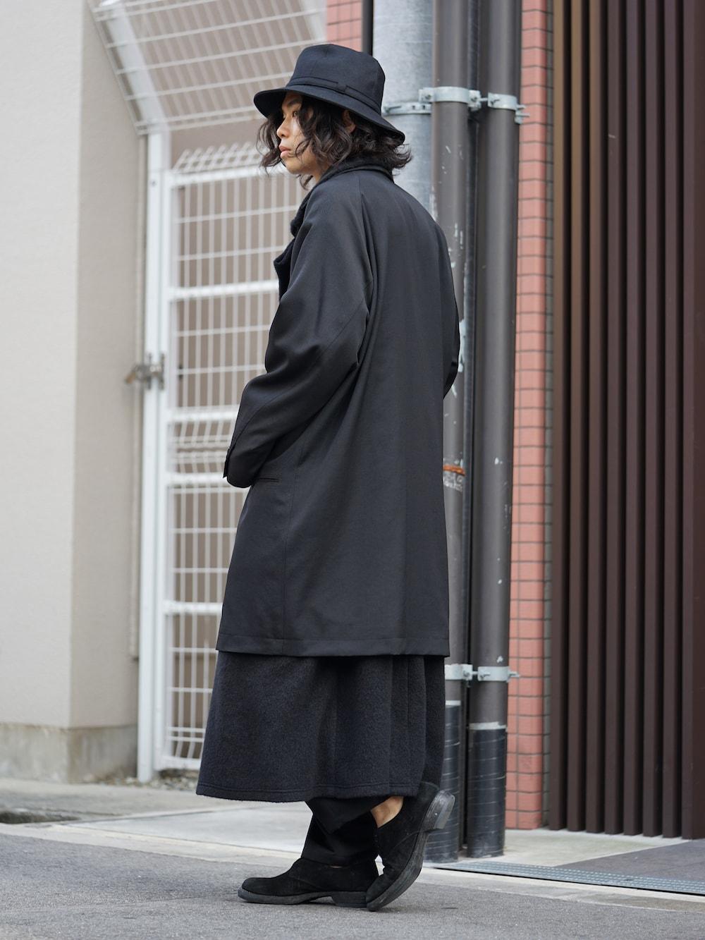 Yohji Yamamoto Coat On Jacket Style 04