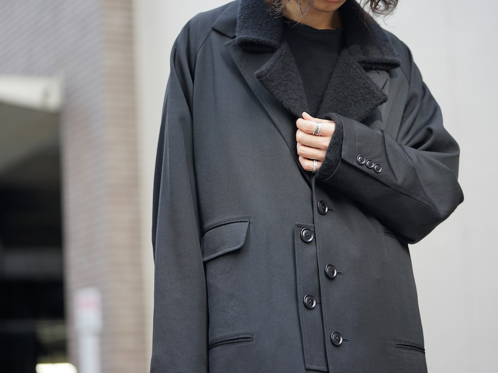 Yohji Yamamoto Coat On Jacket Style 06