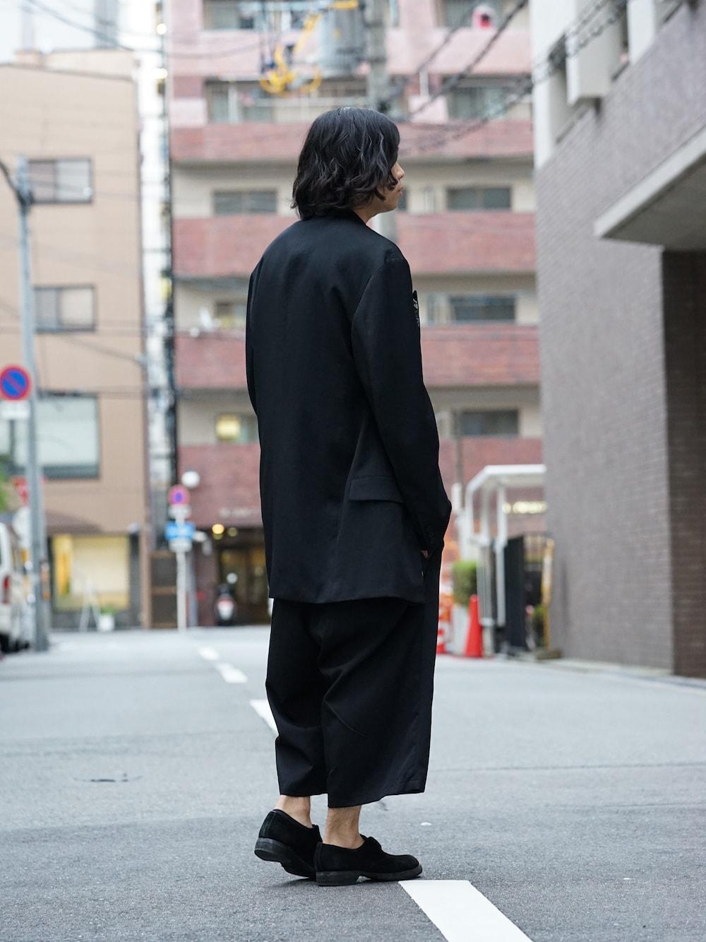 Yohji Yamamoto Deformation Collar Print Jacket  04