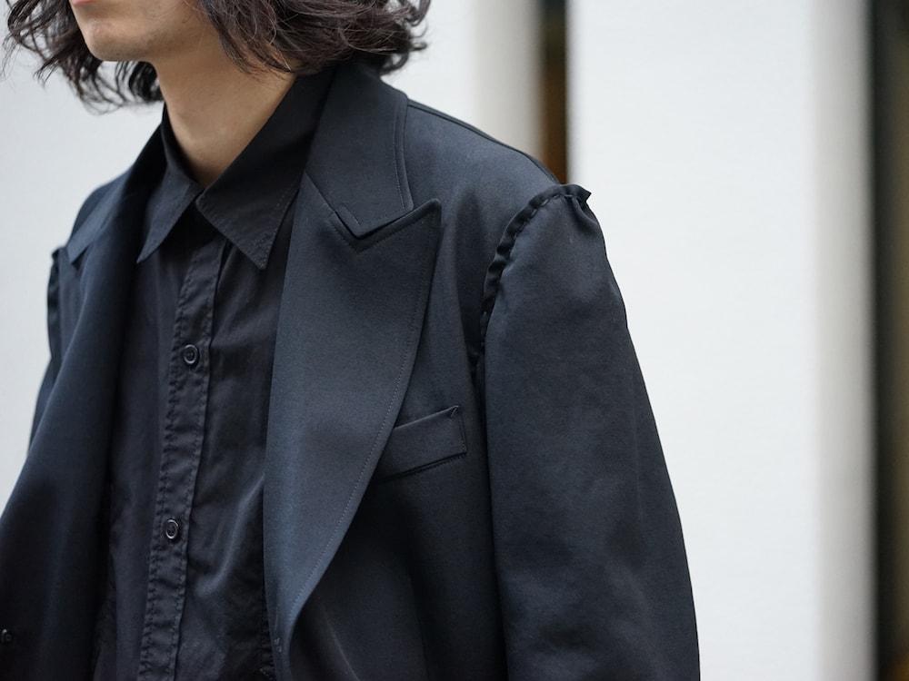 Yohji Yamamoto Print Embroidery Long Jacket  07