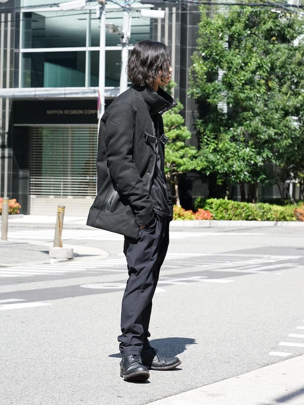 Yohji Yamamoto Deformation Collar Print Jacket  03