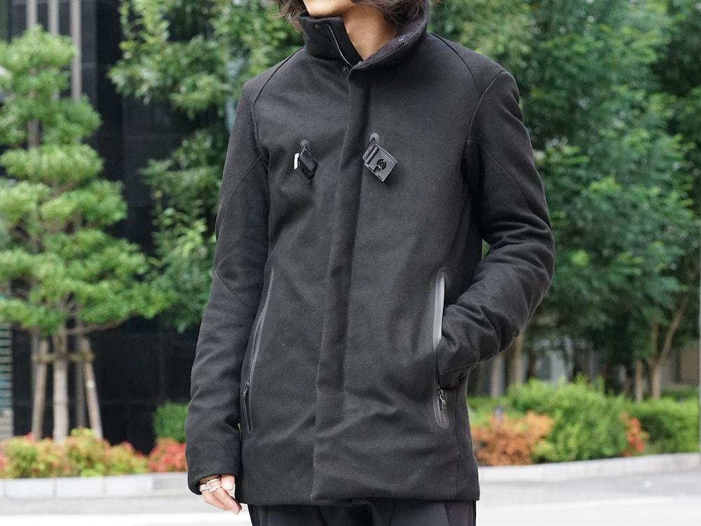 Yohji Yamamoto Deformation Collar Print Jacket  06