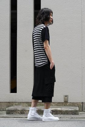 Yohji Yamamoto Vertical Switched Part T-Shirt Style