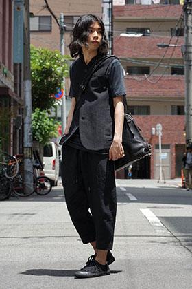 DEVOA Washi Vest X cornelian taurus bag