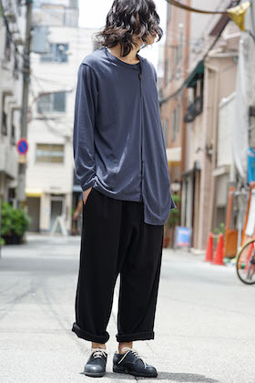 Yohji Yamamoto Long Sleeve and Draw String Pants