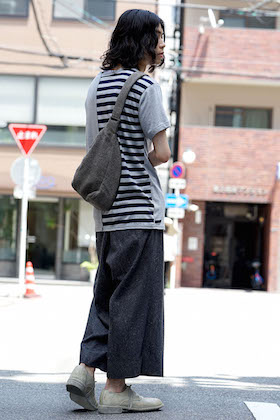 Yohji Yamamoto Switched Parts Shirt x divka Denim Pants