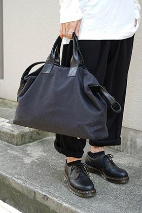 cornelian taurus New Arrival 4 Handle Shoulder Bag Linen Canvas