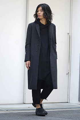 The Viridi-anne Alexandra Twill Long Jacket Style