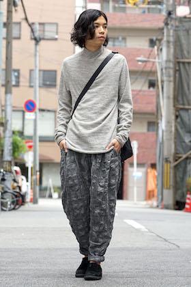 DEVOA Fascinate Limited Long Shirt Silk Check Style