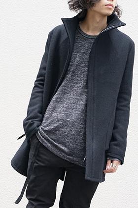 SADDAM TEISSY Wool High-Neck Jacket Style