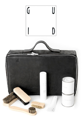 GUIDI Shoe Care Set (Borsa Prota Prodotti)