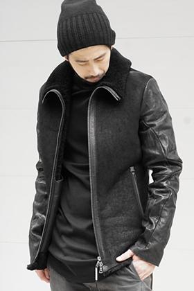 ISAAC SELLAM Mouton Jacket ALARMANT Style