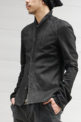 SADDAM TEISSY Kip Nubuck Leather Shirt Style