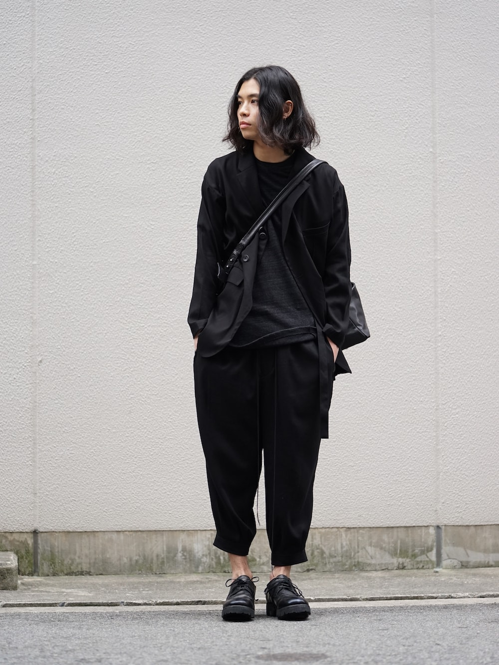 The Viridi-anne 18SS Hard Twist Boil Suit Style 01