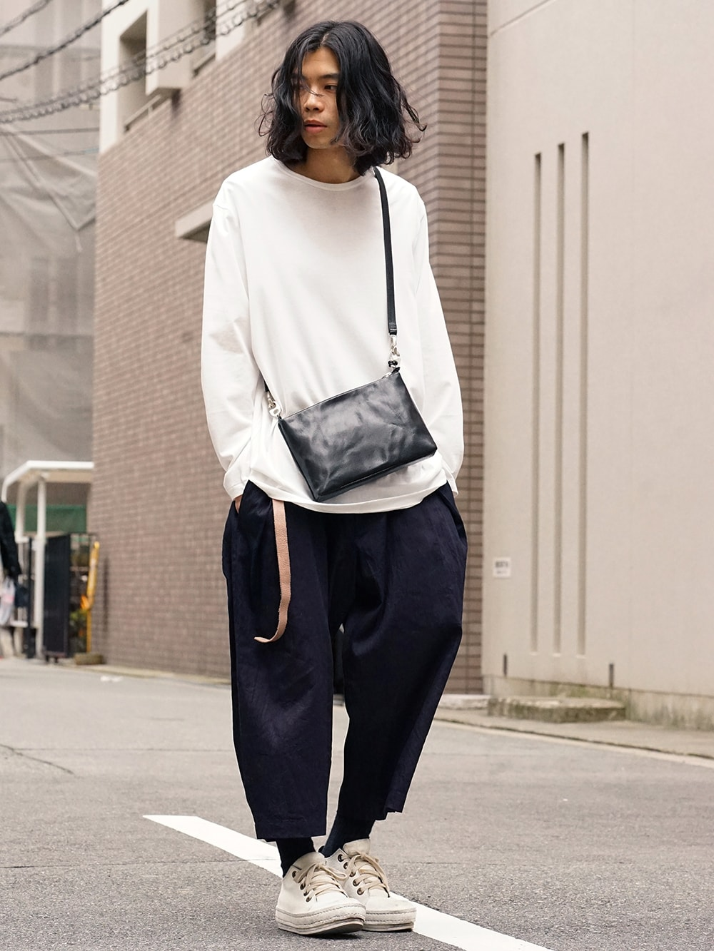 Yohji Yamamoto Side Tuck Pants Style 01