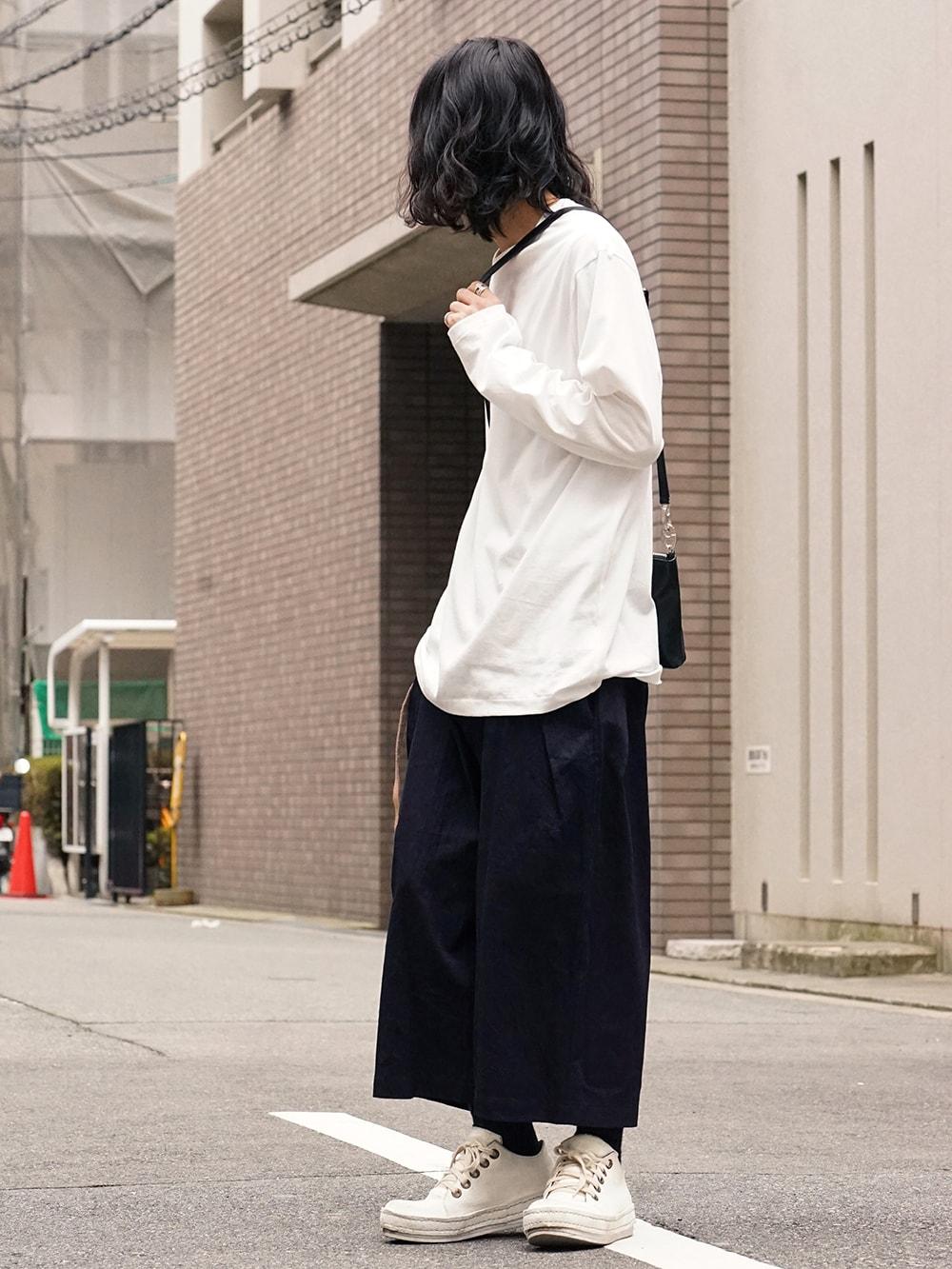 Yohji Yamamoto Side Tuck Pants Style 04