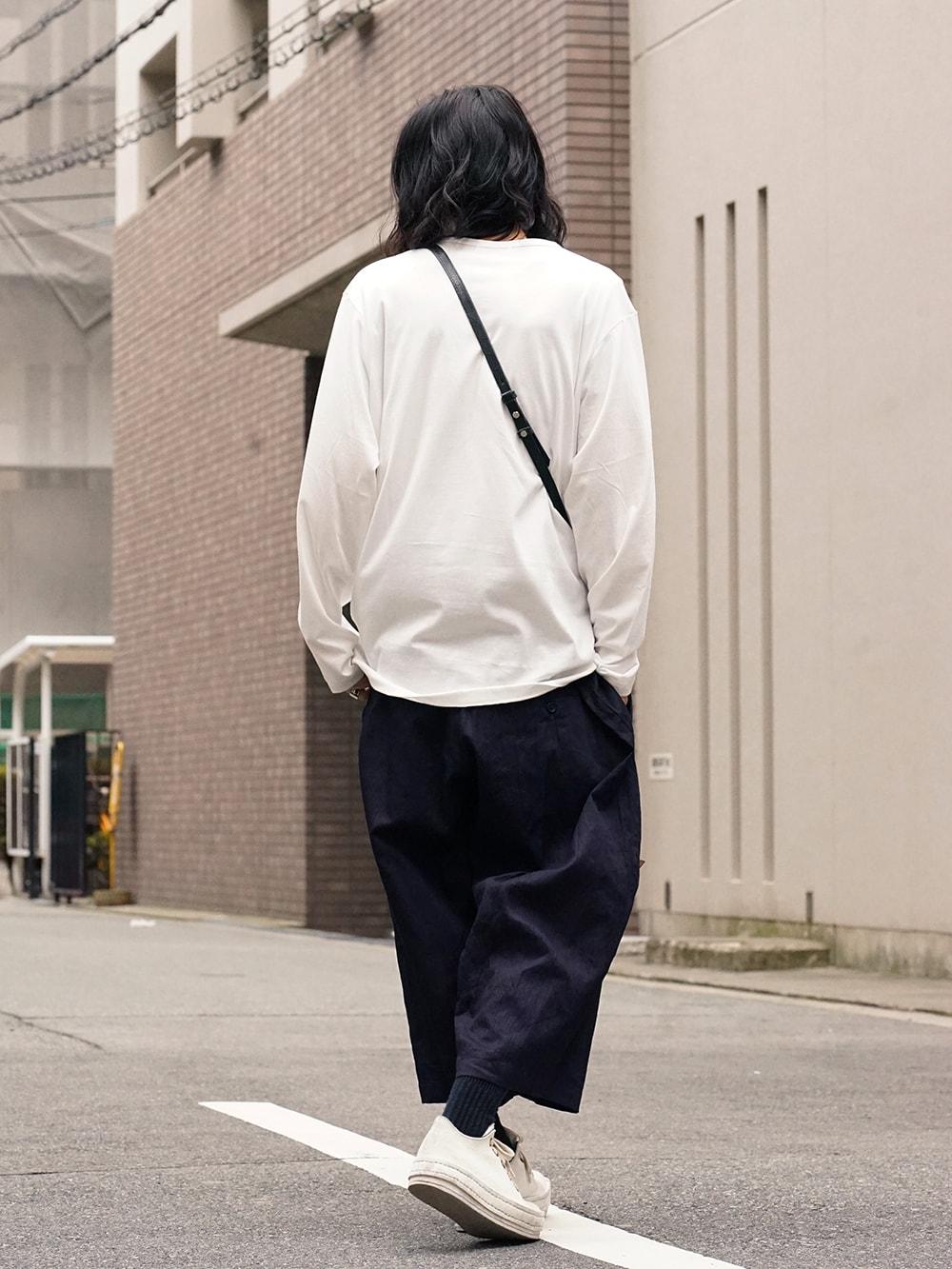 Yohji Yamamoto Side Tuck Pants Style 05