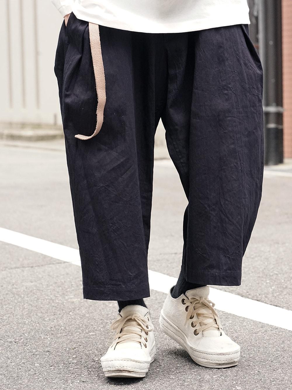Yohji Yamamoto Side Tuck Pants Style 07