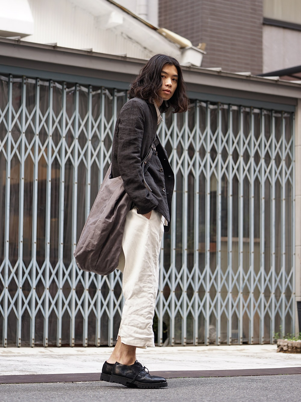 individual sentiments 18SS Light Linen Jacket Style