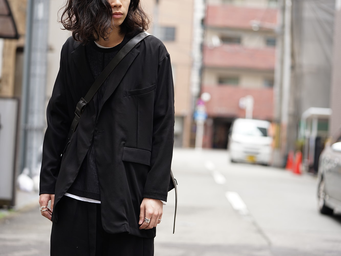 SADDAM TEISSY 18SS Heavy Jersey Cotton Jersey Coat Style