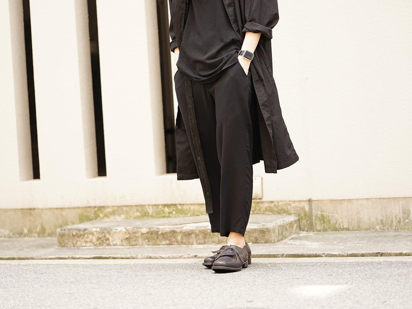 YOHJI YAMAMOTO 18SS Dyed Coat with Stole Style