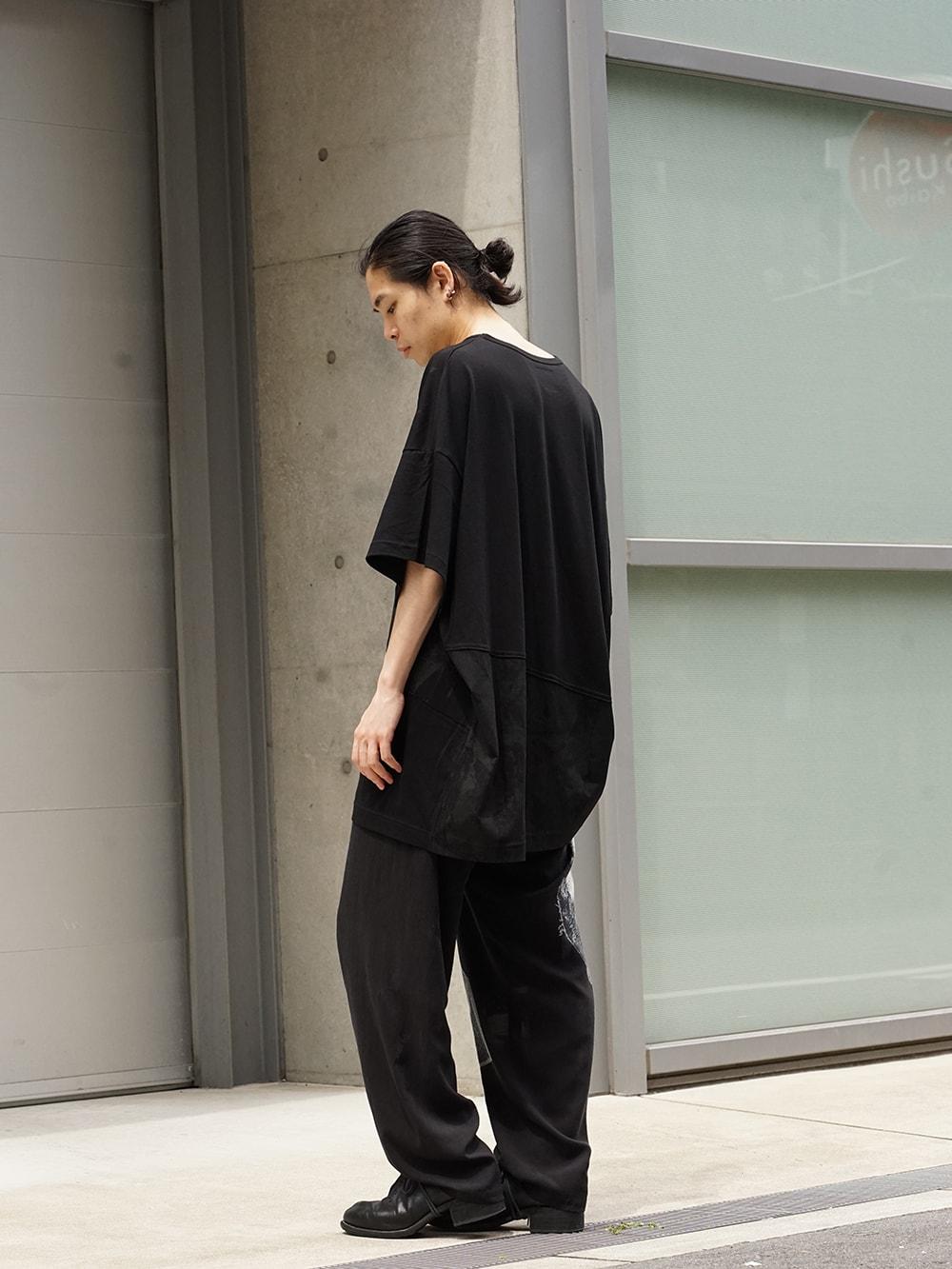 Yohji Yamamoto 18AW Black Scandal Draw String Pants 02