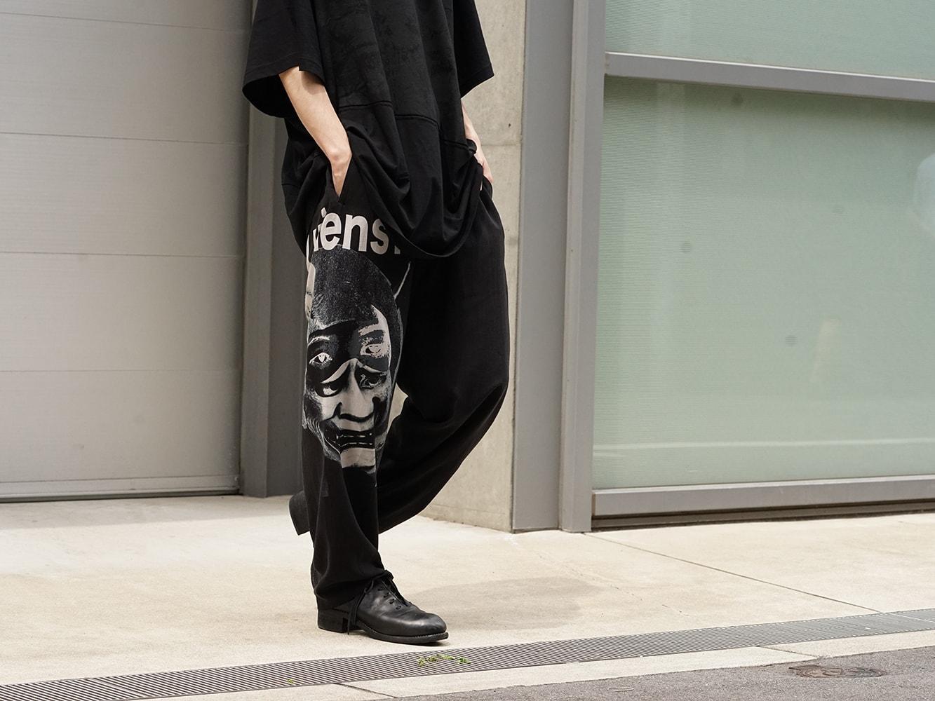 Yohji Yamamoto 18AW Black Scandal Draw String Pants 05