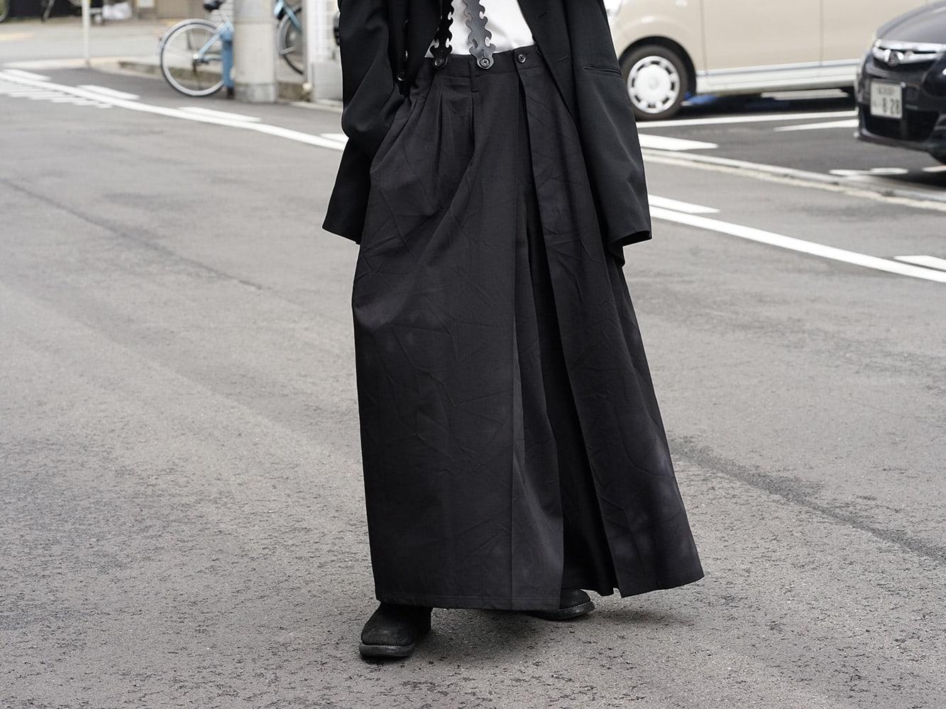 Yohji Yamamoto 18AW Suspender Pants Style 05