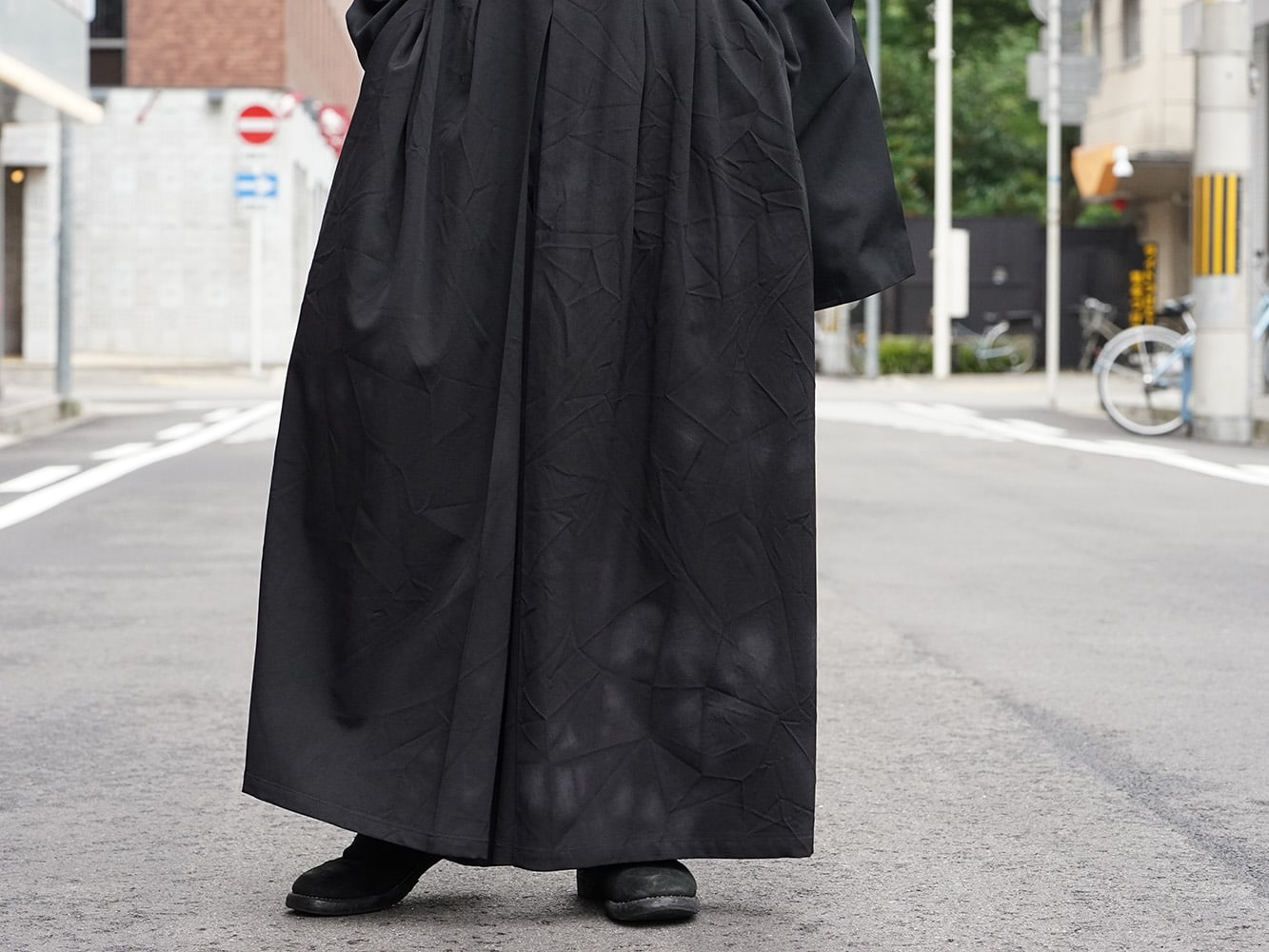 Yohji Yamamoto 18AW Suspender Pants Style 06