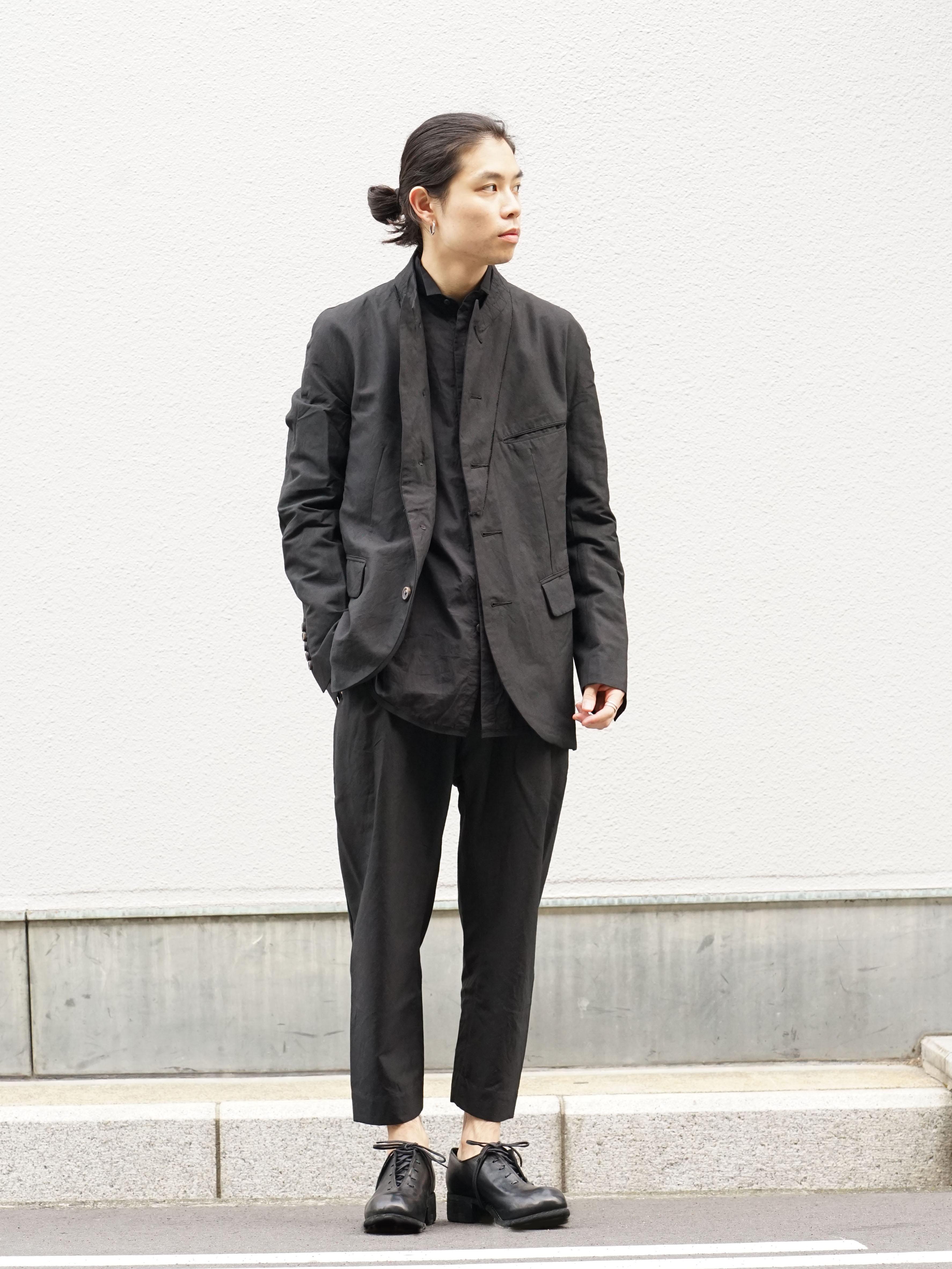 ZIGGY CHEN Stripe Gabardine Suit Style 01