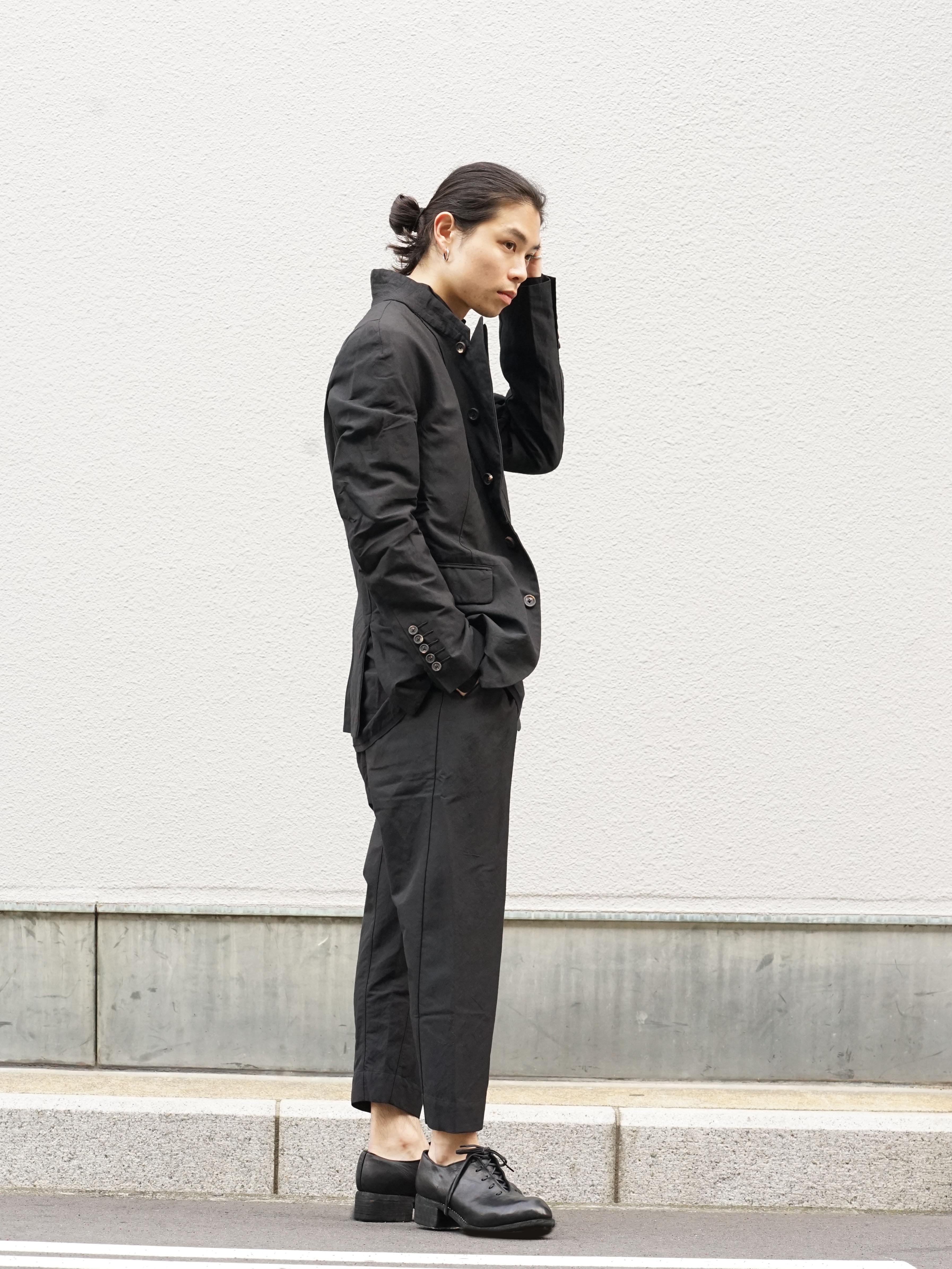 ZIGGY CHEN Stripe Gabardine Suit Style 02