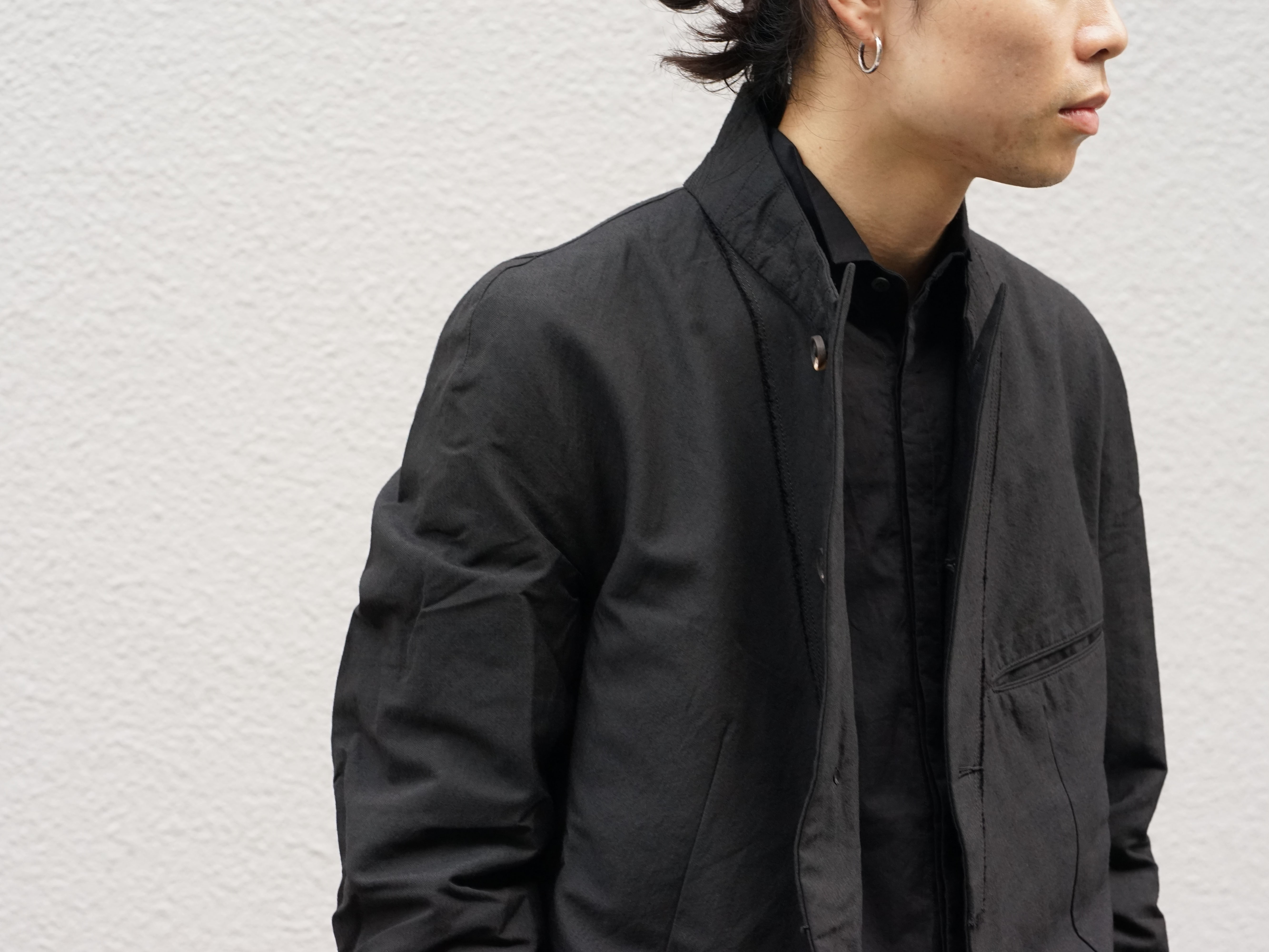 ZIGGY CHEN Stripe Gabardine Suit Style 05